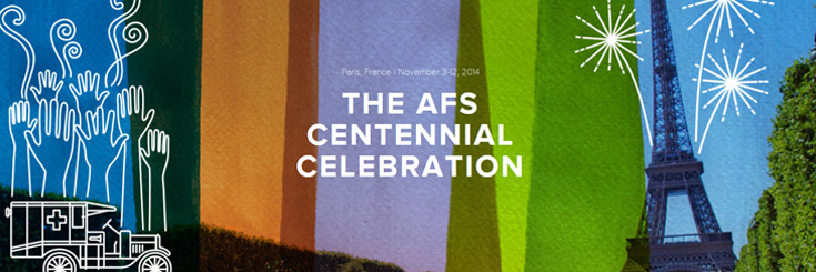 Find here all the AFS Centennial goodies!